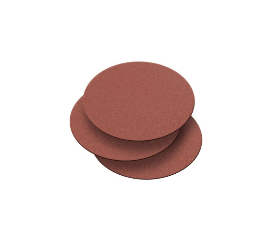 BDS150/G1-3PK 150mm 60 Grit 3 Pack of Self Adhesive Sanding Discs for BDS150