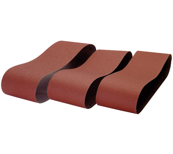 BDS250/B2-3PK 150 x 1220mm 80 Grit 3 Pack of Sanding Belts for BDS250