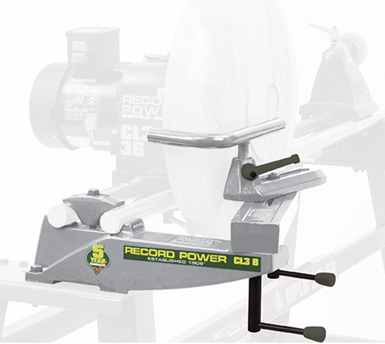 12400 New CL3/B Bowl Rest for CL3 and CL4 Lathes